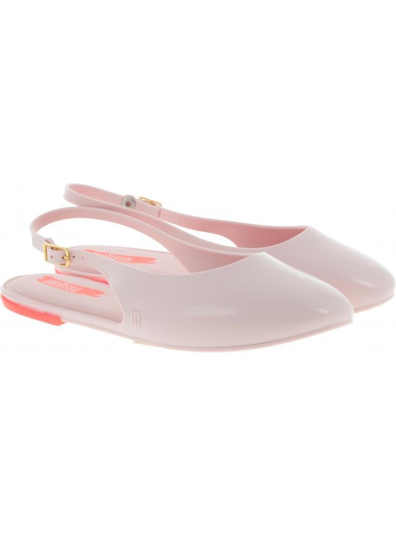 Różowe Sandały Baleriny MELISSA Lipstick 32560 50539 - Sandały