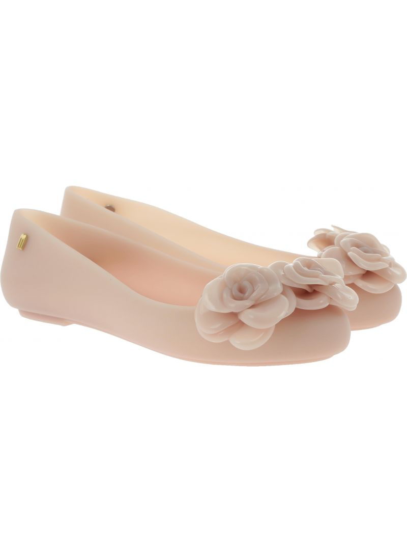 Różowe Baleriny MELISSA Space Love Flower 32665 01822 - Baleriny