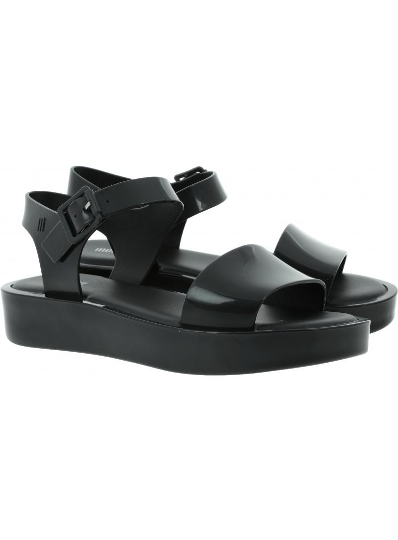 Czarne Sandały MELISSA Mar Platform 32623 01003 - Sandały