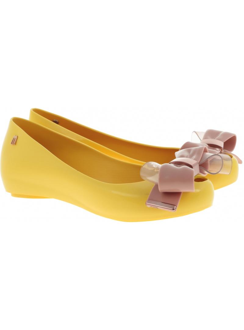 Żółte Balerinki MELISSA Ultragirl Sweet XVII 32580 52149 -