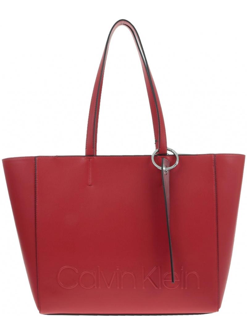 Czerwona Torba CALVIN KLEIN K60K605275 635 - Na ramię