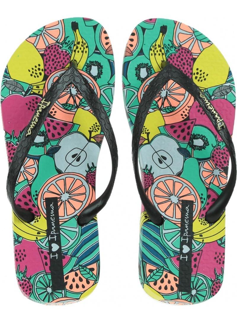 Kolorowe Japonki IPANEMA Summer II Fem 82684 21675 - Japonki