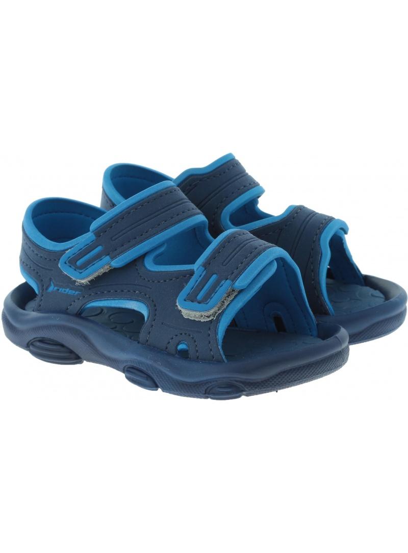 Niebieskie SANDAŁKI RIDER RS 2 IV Baby 82514 22892 - Sandały