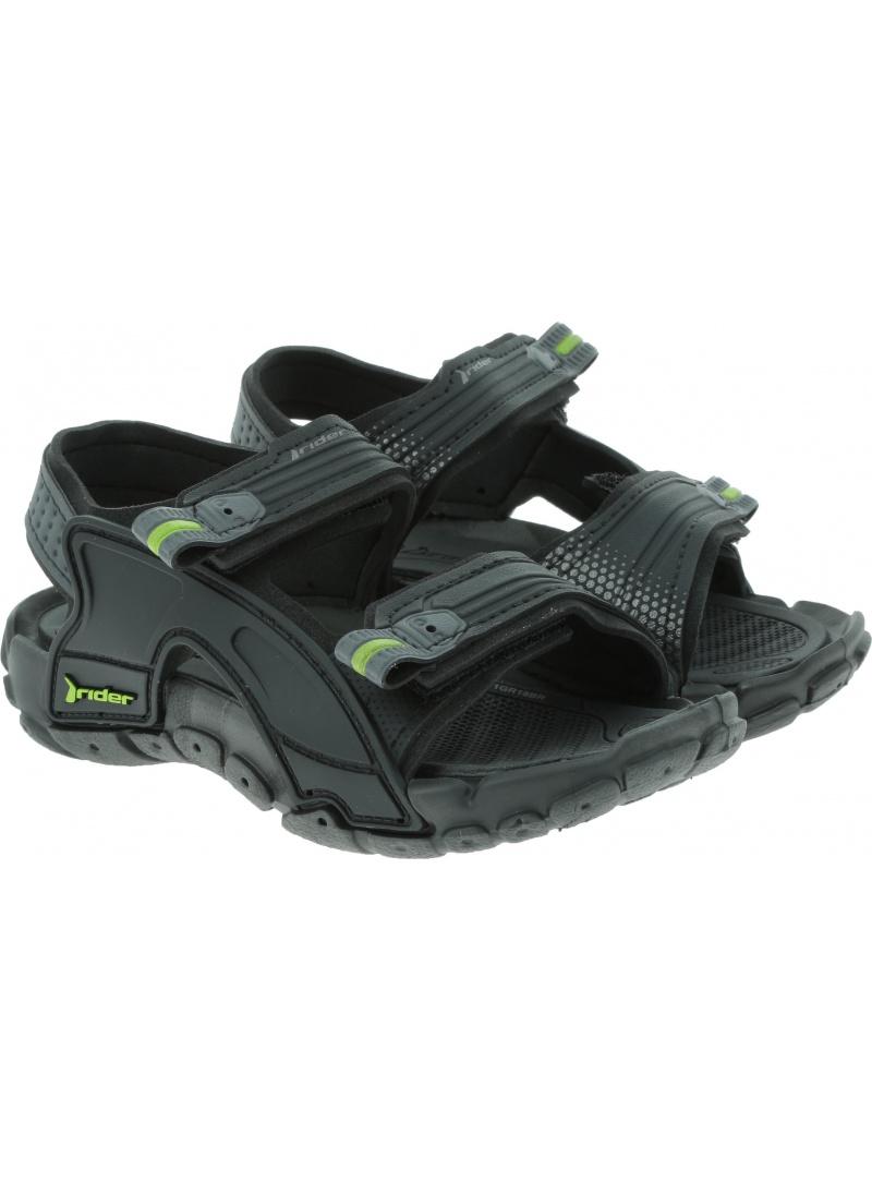 Czarne SANDAŁKI RIDER Tender X Kids 82575 20766 - Sandały