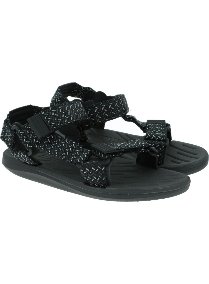 Czarne SANDAŁY RIDER RX III Sandal 82656 02018 - Sandały
