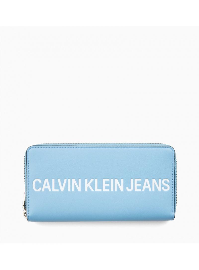 Niebieski Portfel CALVIN KLEIN Sculpted Logo Large K60K605266