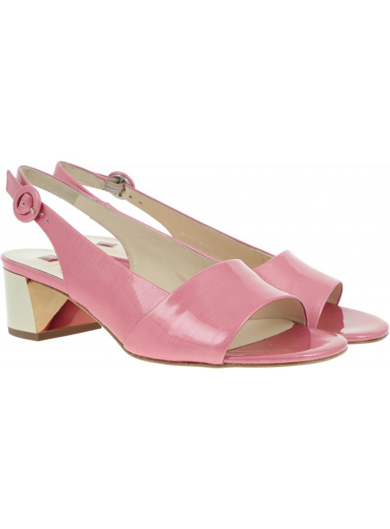 Różowe Sandały HOGL 7-10 2105 pink - Sandały