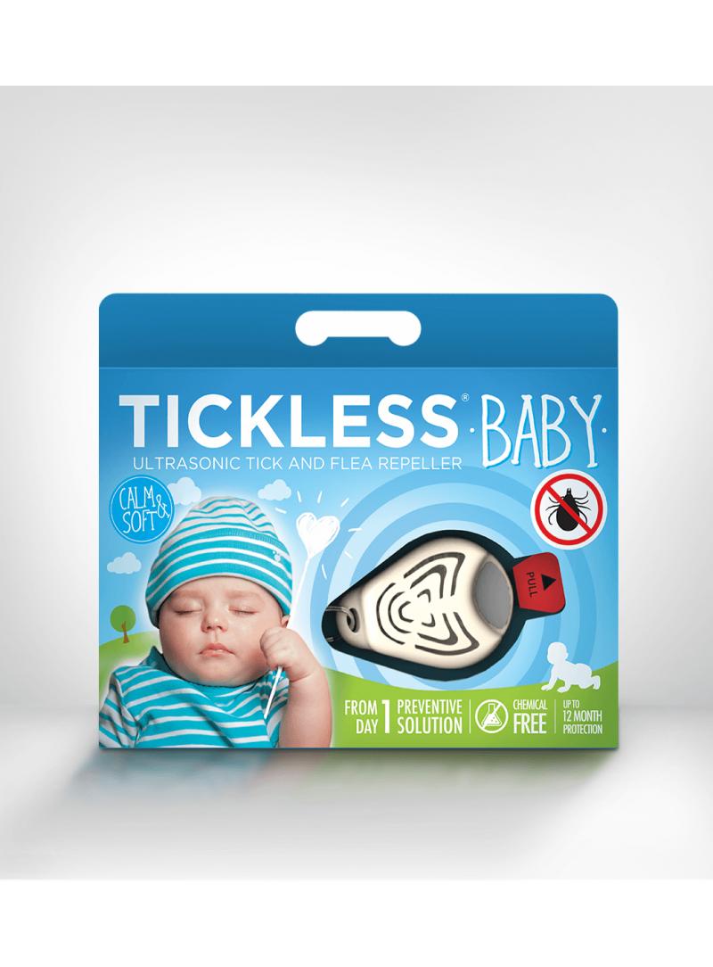 Odstraszacz kleszczy TickLess Baby - Beige - Strona główna
