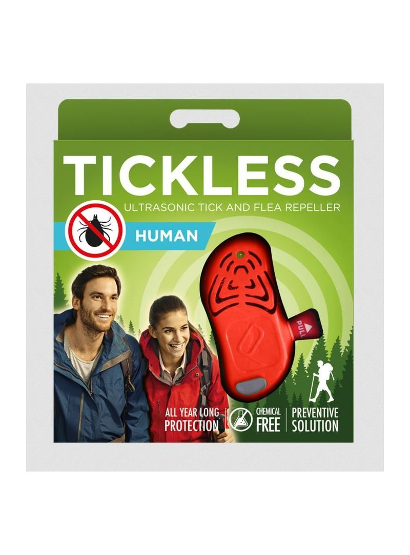 Odstraszacz kleszczy Tickless Human - Orange - Strona główna