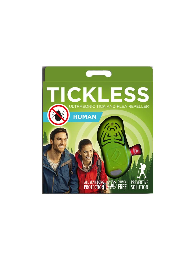 Odstraszacz kleszczy TickLess Human - Green - Strona główna