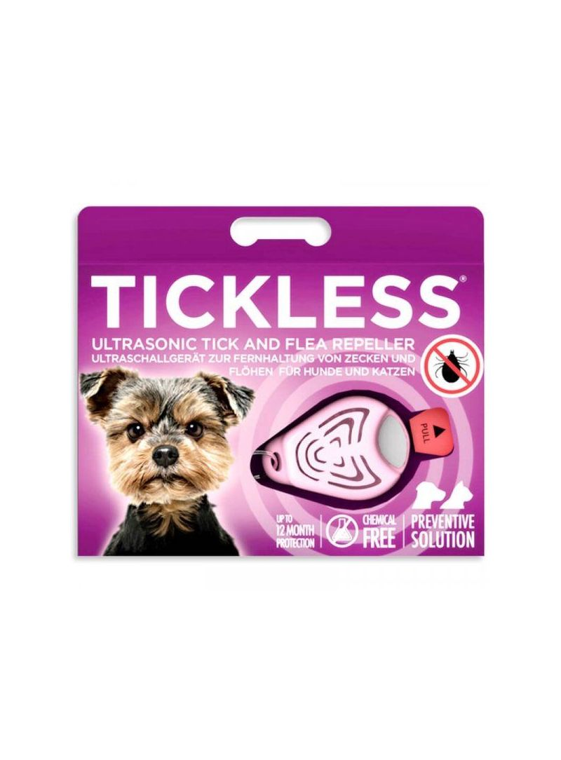 Tickless Pet - Pink