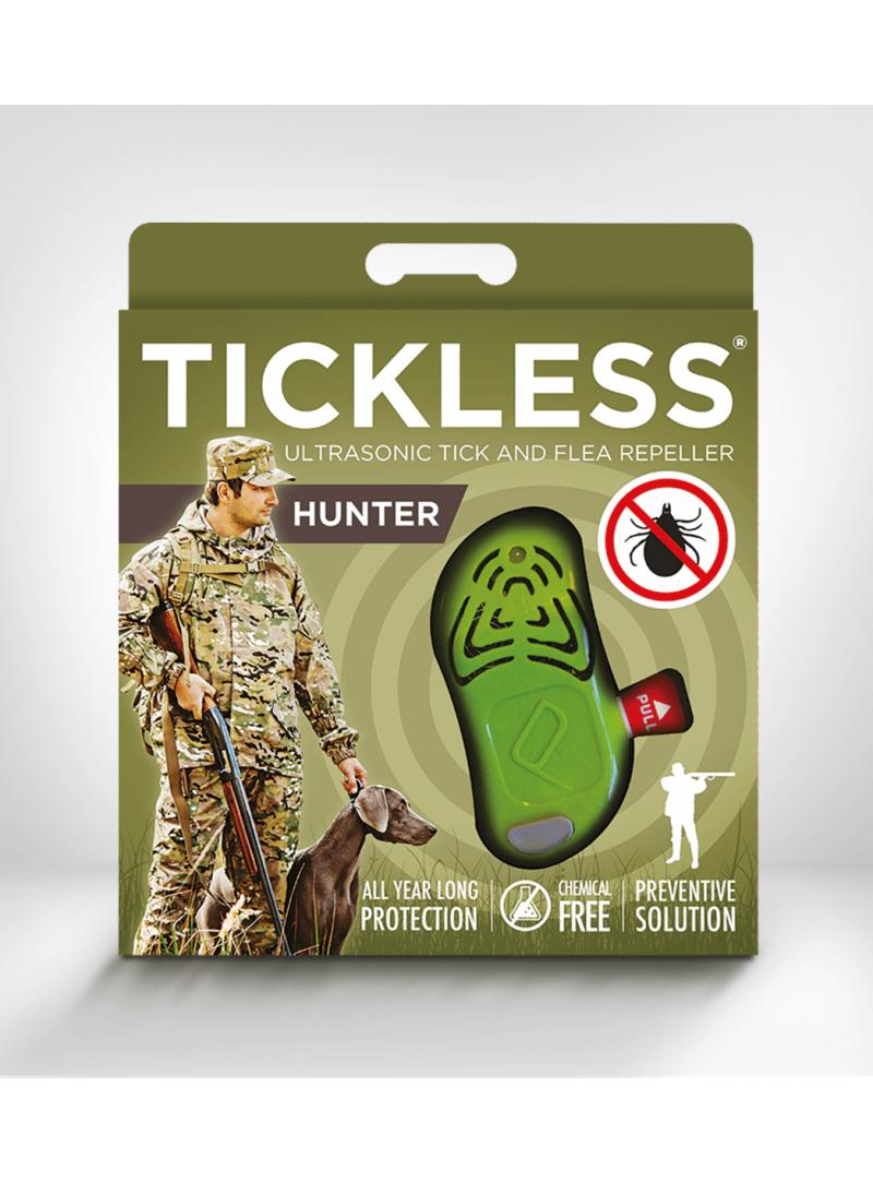 Odstraszacz kleszczy TickLess Hunter - Green - Strona główna
