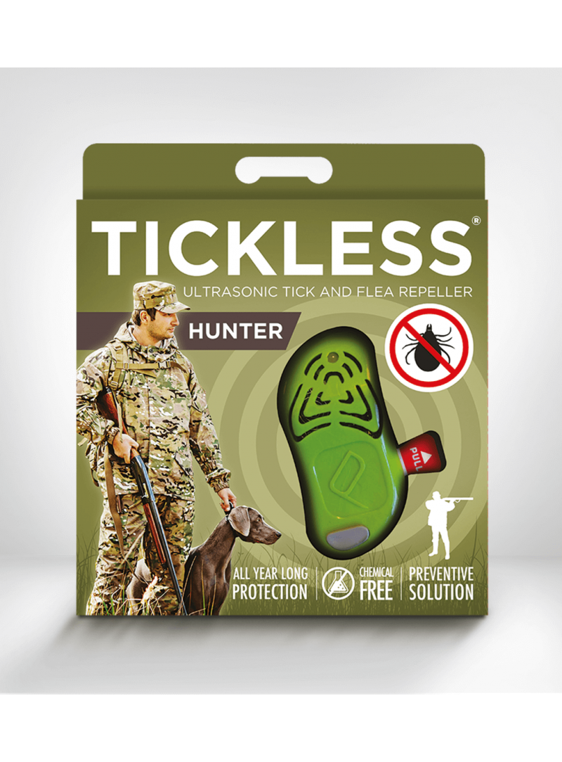 TickLess Hunter - Green