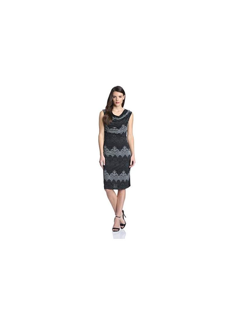Letnia Sukienka DESIGUAL VEST TRINIDAD MEDIEVAL BLack - Sukienki