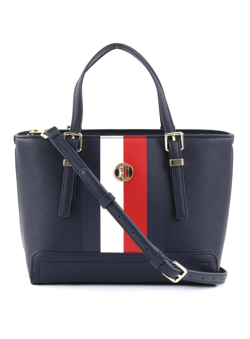 Torebka TOMMY HILFIGER Honey Small Tote Corp AW0AW06866 901