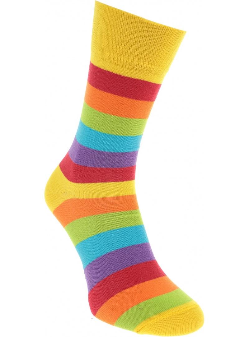 Kolorowe Skarpetki Spox Sox Tęcza