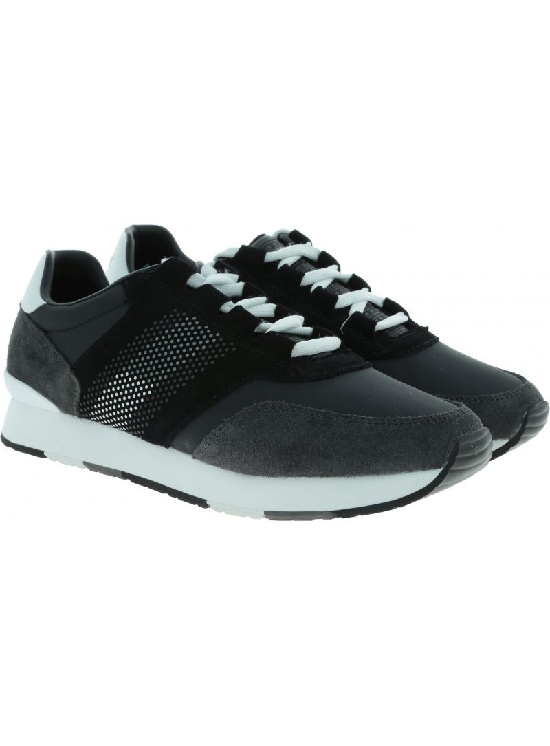 Półbuty TOMMY HILFIGER CORPORATE RUNNER BLACK FM0FM02056 990