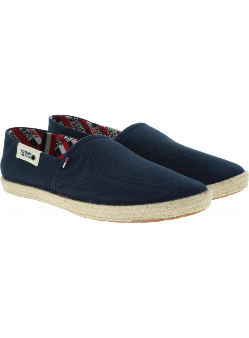 Espadryle Męskie Tommy Hilfiger Jeans Summer Shoe EM0EM00279 006