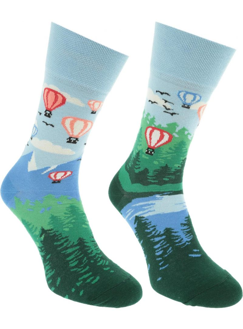 Many Mornings SOCKS ADVENTURE BALLOON