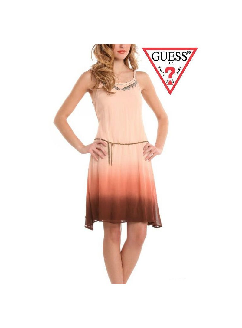Sukienka Guess Jeans CHRISTINE DRESS W22K32W29H0