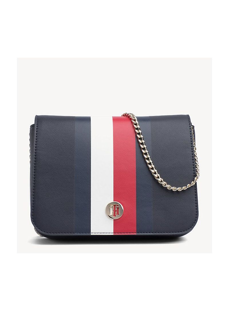 Torebka TOMMY HILFIGER Honey Crossover AW0AW06865 901