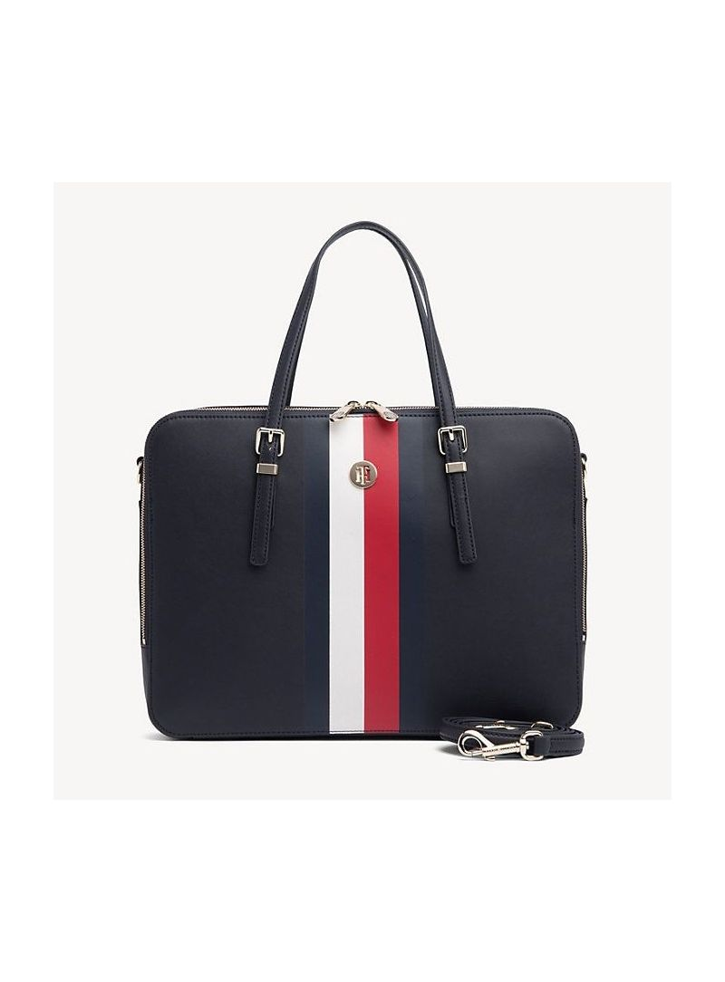 95d4cb82 Torba na laptopa TOMMY HILFIGER Honey Computer Bag AW0AW06485 901