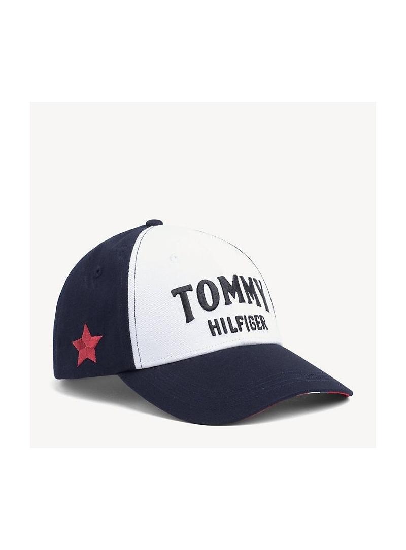 Czapka TOMMY Hilfiger Bold Tommy Cap AW0AW06673 901