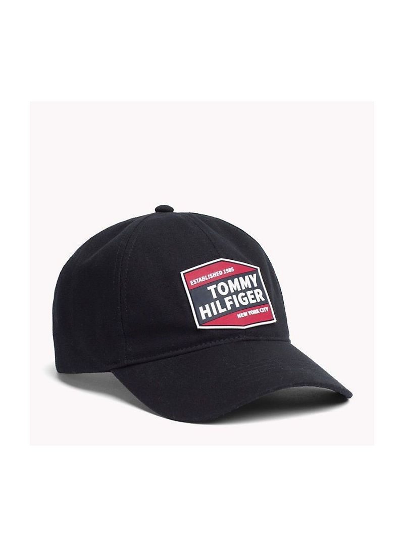 Czapka TOMMY HILFIGER Patches Cap AM0AM04653 002