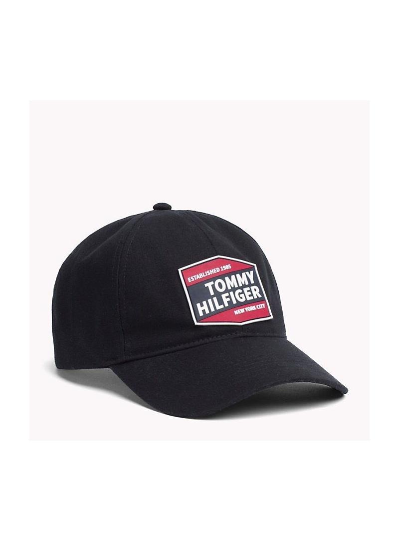 Czapka TOMMY HILFIGER Patches Cap AM0AM04653 002