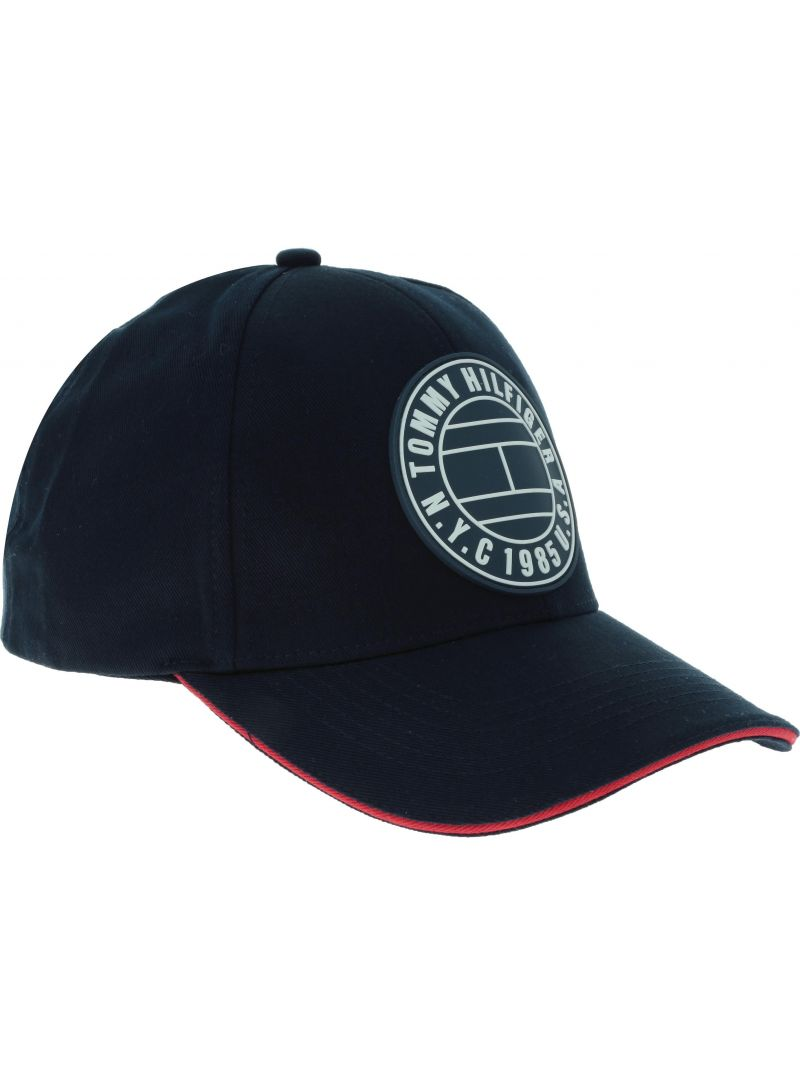 Czapka TOMMY HILFIGER Round Patch Cap AM0AM04503 413