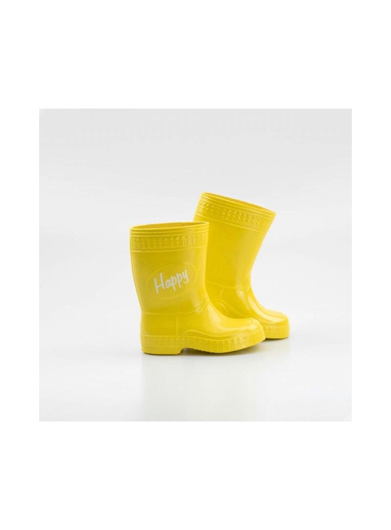 Żółte Kalosze Kaloszepoprosze Colorfull Happy Yellow