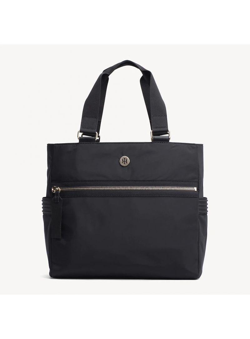 TOMMY HILFIGER Youthful Nylon Tote AW0AW06458 002