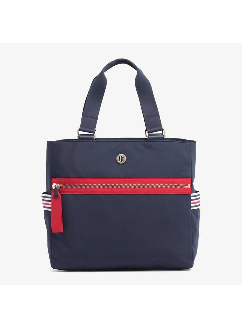 TOMMY HILFIGER Youthful Nylon Tote AW0AW06458 901