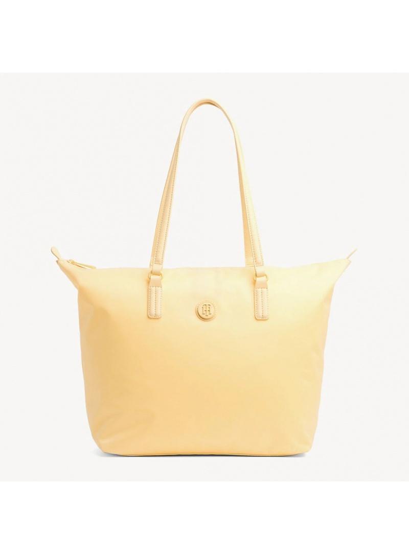 Żółta Shopperka TOMMY HILFIGER Poppy Tote AW0AW06443 732