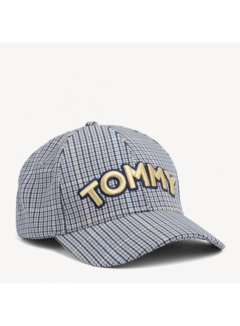 Czapka z Daszkiem TOMMY HILFIGER Tommy Patch Cap AW0AW06582 904