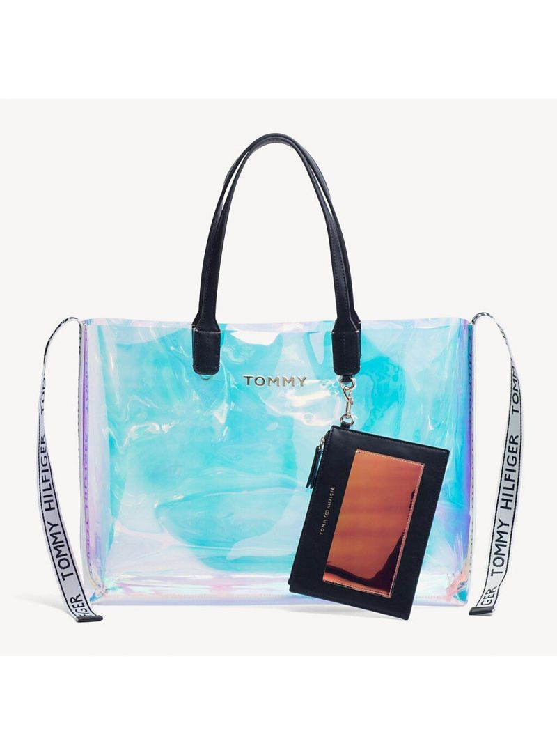 Shopperka TOMMY HILFIGER Iconic Tommy Tote Ir AW0AW06900 902