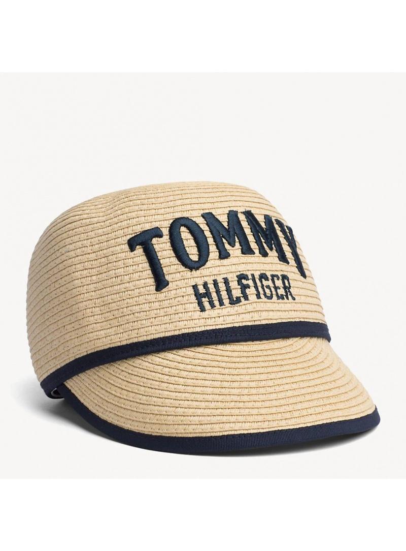 Czapka z Daszkiem TOMMY HILFIGER Straw Cap AW0AW06574 901