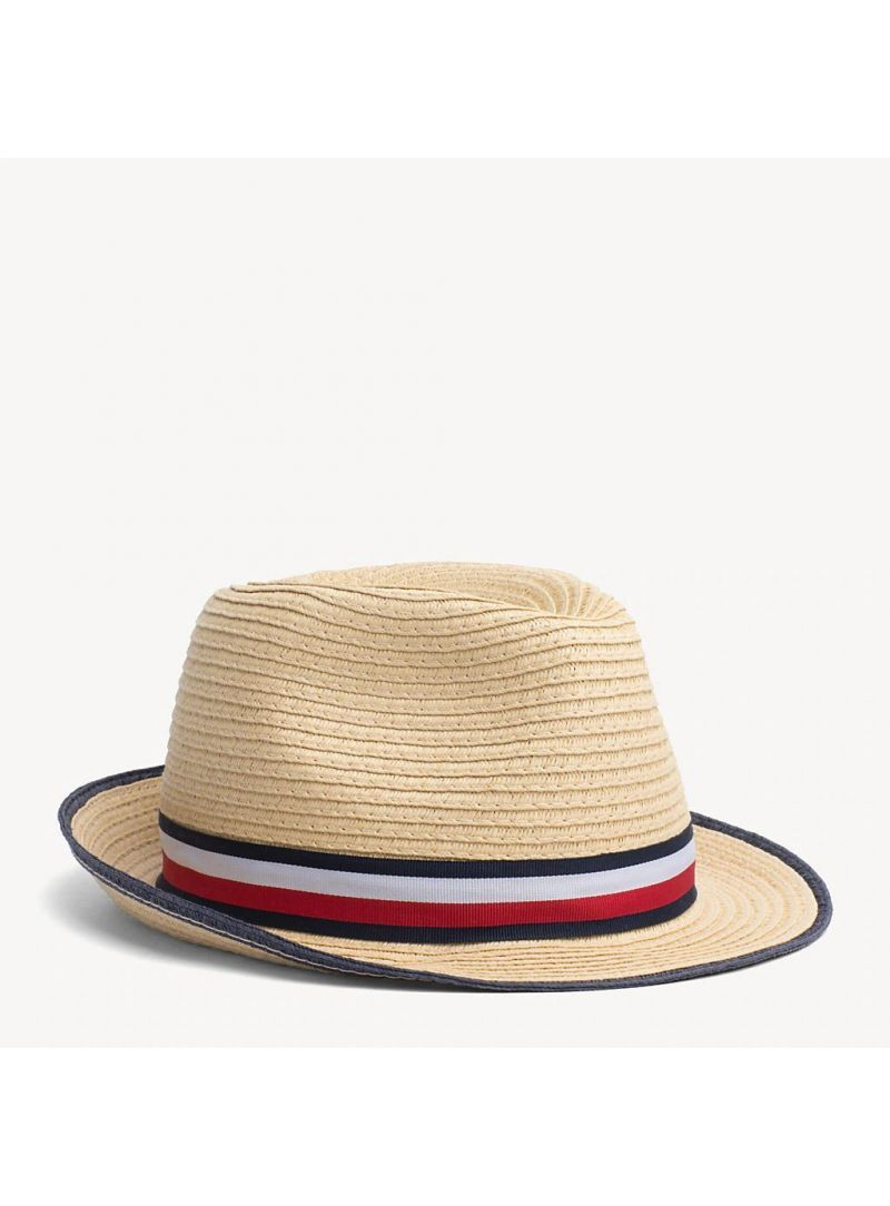 TOMMY HILFIGER Boys Straw Hat AU0AU00575 069