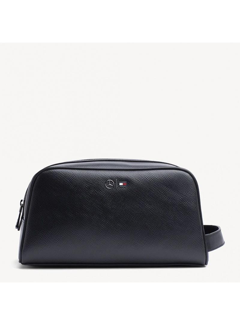 Kosmetyczka TOMMY HILFIGER Mb Capsule Leather W AM0AM04568 002