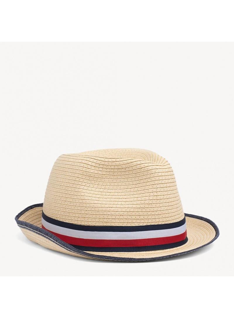 TOMMY HILFIGER Straw Hat AM0AM04502 069