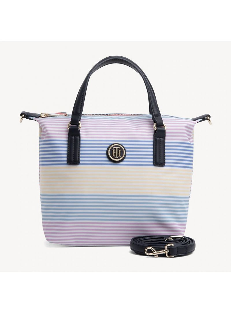 TOMMY HILFIGER Poppy Small Tote Stp AW0AW06863 901