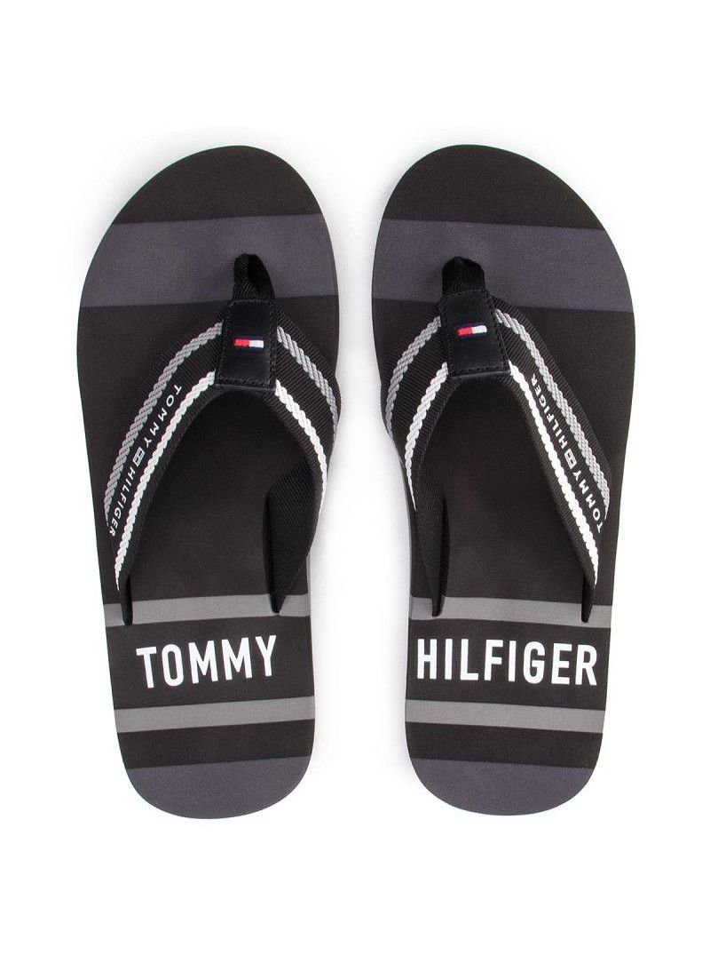 TOMMY HILFIGER Striped Beach Sandal FM0FM02085 990