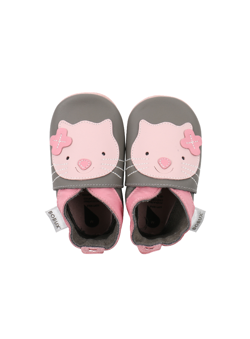BOBUX 4114 GREY KITTEN SOFT SOLE