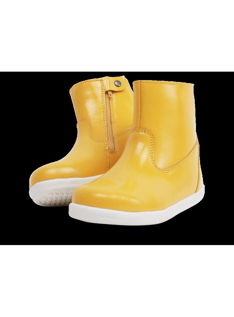 Żółte Wodoodporne Botki BOBUX 634205 CLASSIC PADDINGTON YELLOW