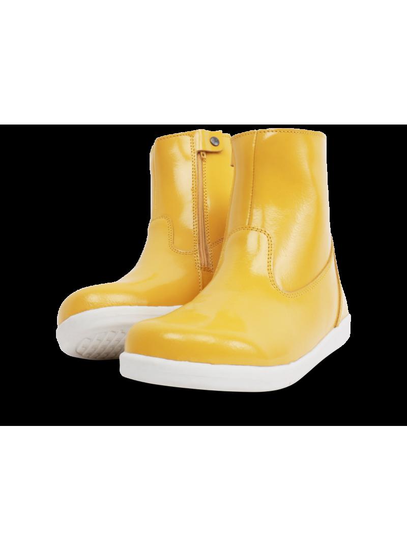 Żółte Wodoodporne Botki BOBUX 835205 CLASSIC PADDINGTON YELLOW