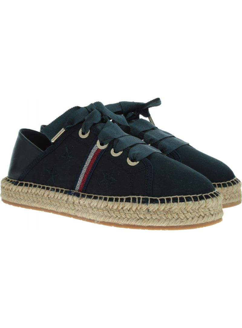 TOMMY HILFIGER Flat Espadrille Corp FW0FW03801 403