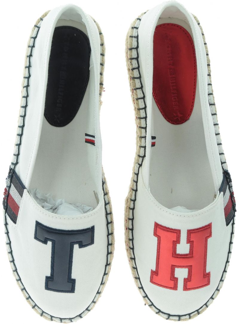 TOMMY HILFIGER Th Patch Espadrille FW0FW03846 121