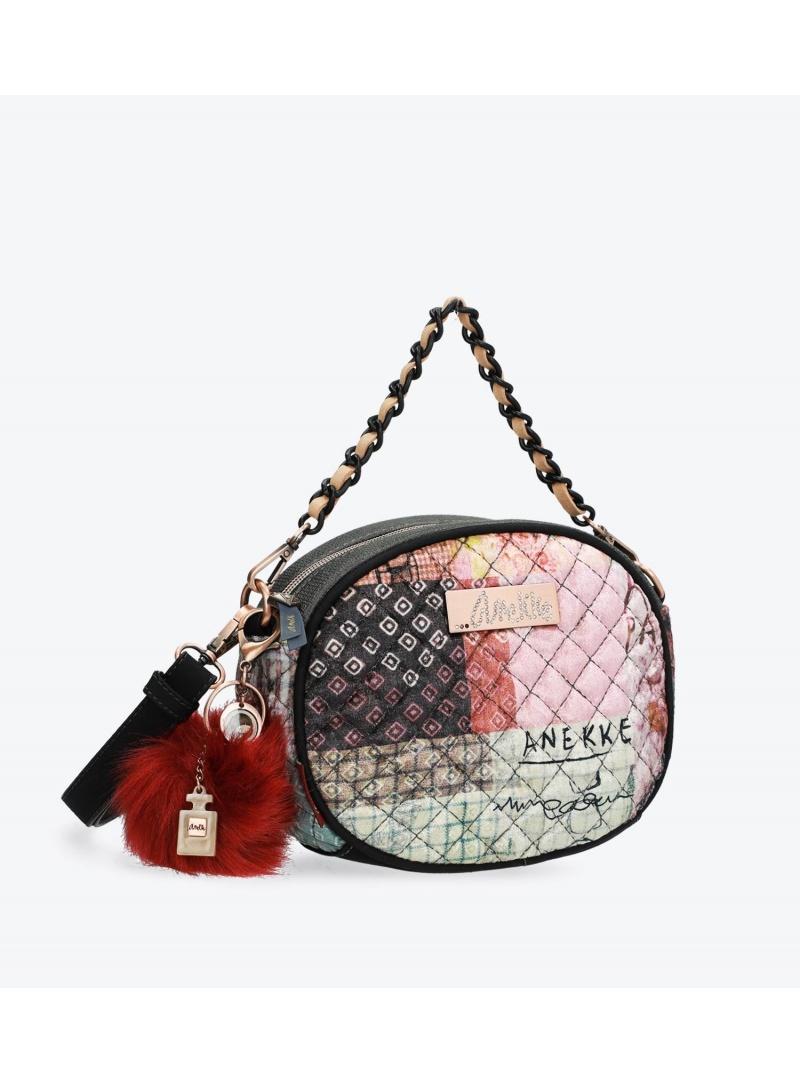 ANEKKE Pink Textile Shoulder Bag 29882-73