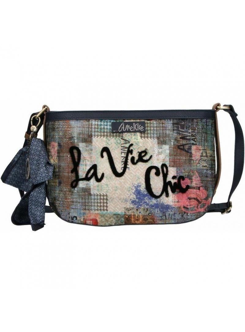 ANEKKE Blue Shoulder Bag 29882-08