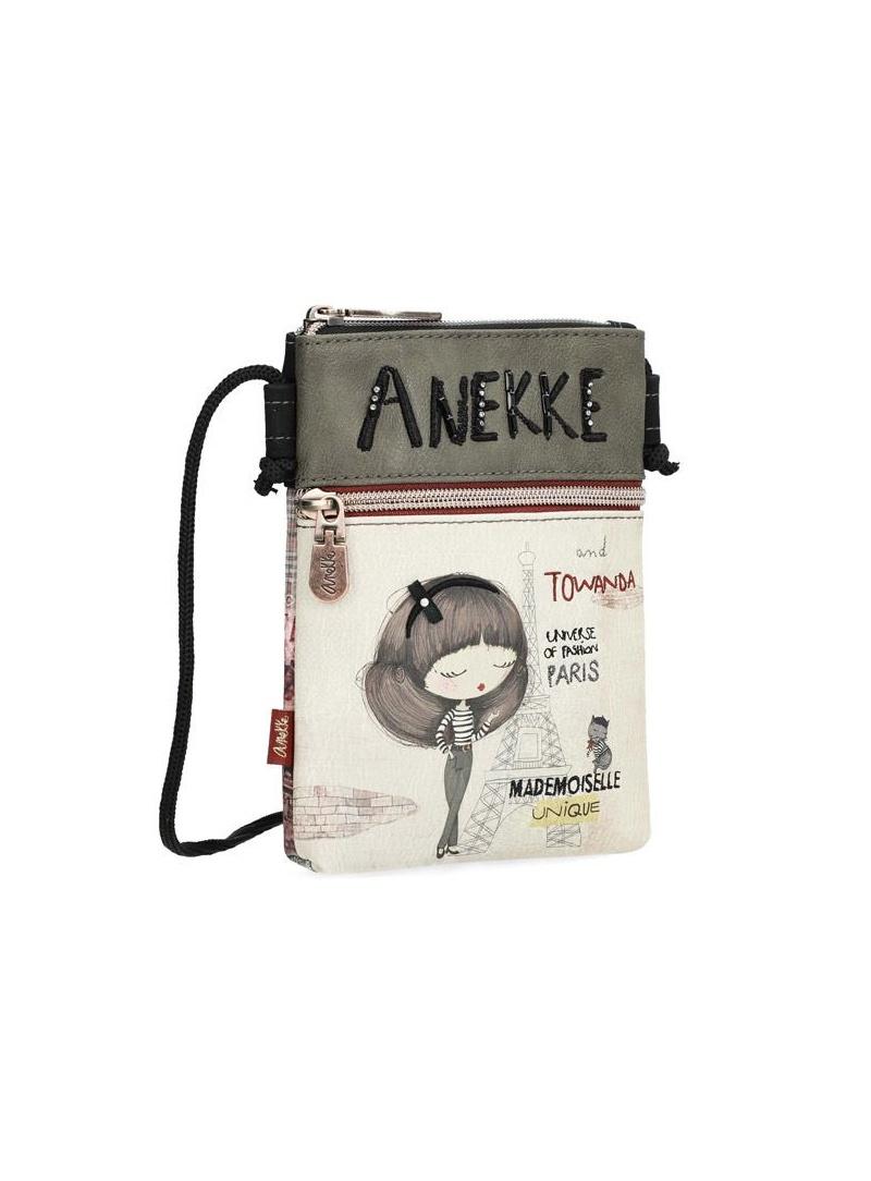 ANEKKE Beige Synthetic Shoulder Bag 29889-04